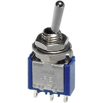 APEM 5566A 3A PCB Mount Toggle Switch, , 250Vac