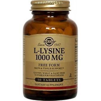 Solgar - L-Lysine 1000mg 50VTabs