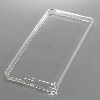 Mobile case TPU protective bumper shell for Sony Xperia E5 case transparent new