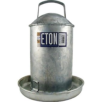 Galvanised Traditional Poultry Drinker 4546ml