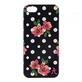 ACCESSORIZE mobile cases iPhone 5/s/SE Polka Black