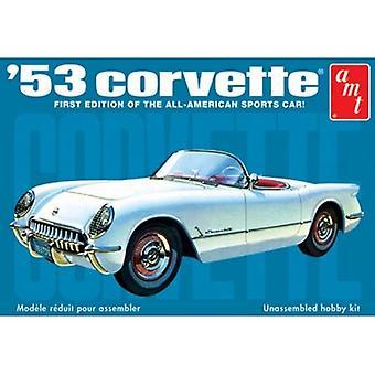 AMT Model Kit - 1953 Chevy Corvette Car - 1:25 Scale - AMT910 - New