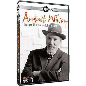 American Masters : Août Wilson / Ground sur importation USA [DVD]