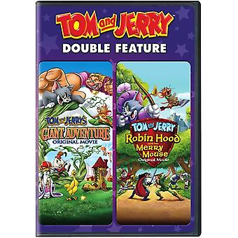 Tom & Jerry: Giant äventyr / Robin Hood & hans [DVD] USA import