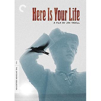 Her er dit liv [DVD] USA importerer
