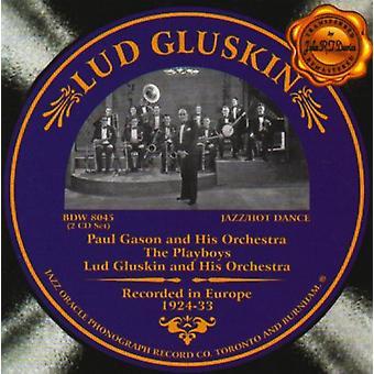 Lud Gluskin - 1924-33 [CD] USA Importer