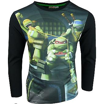 Nickelodeon Boys Ninja Turtles Long Sleeve Top
