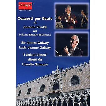 A. Vivaldi - Concerti for fløjte [DVD] USA import