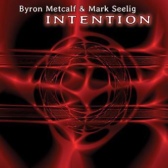 Metcalf, Byron / Seelig, Mark - Intention [CD] USA import