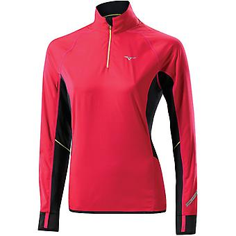 Mizuno Women Breath Thermo Windtop Laufshirt - 77SP35264