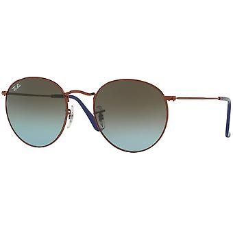 Ray-Ban Round Metal Bronze-Copper Sunglasses RB3447-900396-50
