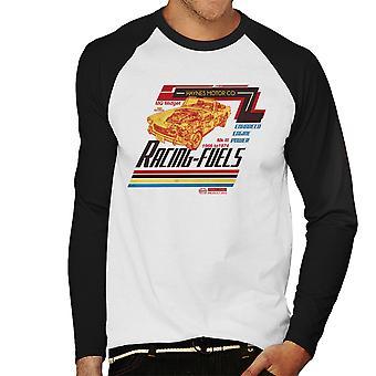 Haynes MG Midget Racing bränslen mäns Baseball lång ärm T-Shirt