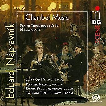 Napravnik / Spyros Piano Trio - Eduard Napravnik: importación de Estados Unidos completa tríos de Piano [SACD]