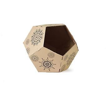 United Pets Carton Box For Cats - Tiger (Cats , Bedding , Igloos)