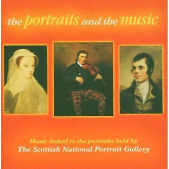 Portrætter & musik - The portrætter og musik: musik sammenkædede [CD] USA import