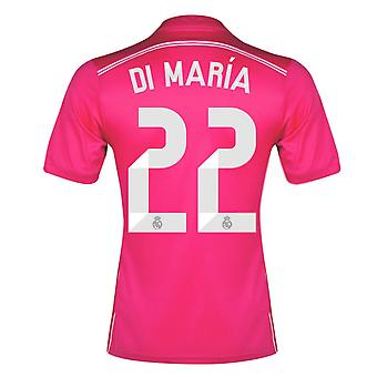 2014-15 Real Madrid Away Shirt (Di Maria 22) - Kids
