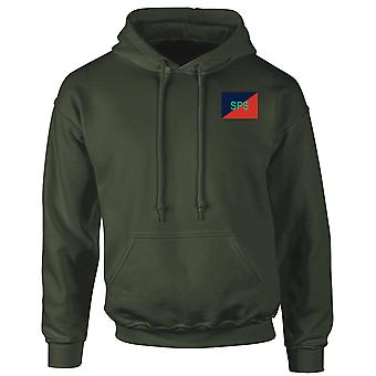 Staff & Personnel Support Branch SPSB Embroidered TRF Logo - Official British Army Hoodie