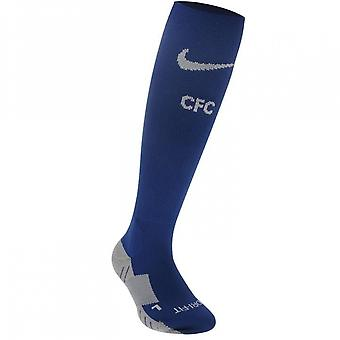 2017-2018 Chelsea Nike Away Socks (Blue)