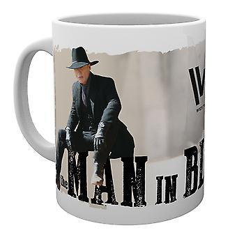 Westworld uomo In tazza nera
