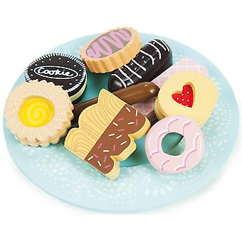 Le Toy Van Honeybake Biscuit & Plate Set