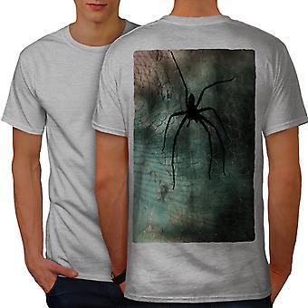 Schwarzes traurig Spider Frauen graut Hemd | Wellcoda