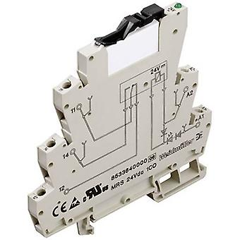 Crossbar switch 1 pc(s) 24 Vdc, 24 Vac 6 A 1 change-over Wei