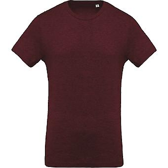 Kariban Mens Organic Crew Neck T-Shirt