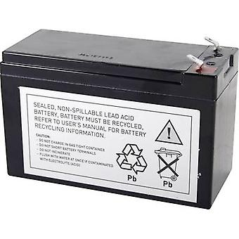 UPS battery Conrad energy replaces original battery RBC17 Suitable for model 5