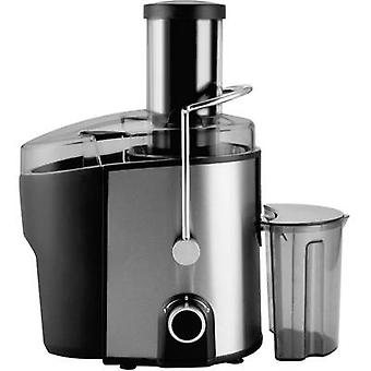 Juicer Silva Homeline AE6080 Profi 800 W Stainless steel, Black juice spout