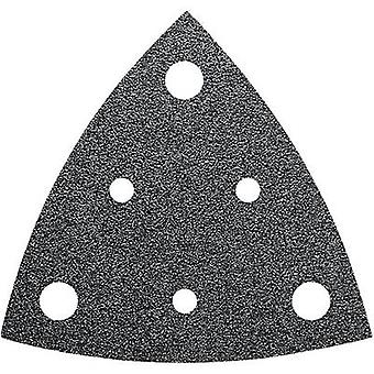 Delta grinder blade Hook-and-loop-backed, punched Grit size 60 Width across co