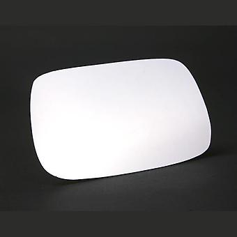 Left Stick-On Mirror Glass TOYOTA AVENSIS 1997-2003
