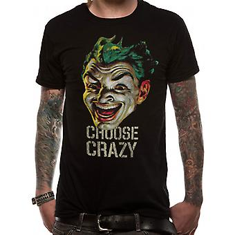 BATMAN 1966 - CHOOSE CRAZY (UNISEX)  T-Shirt