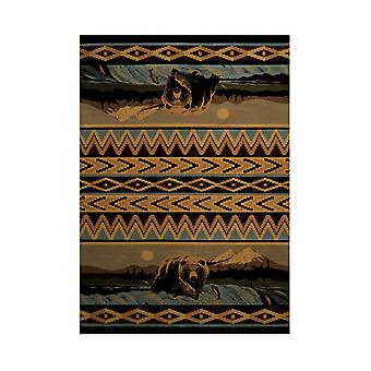United Weavers Bear Falls Lodge Style Carpet Runner 31 X 88 Inches
