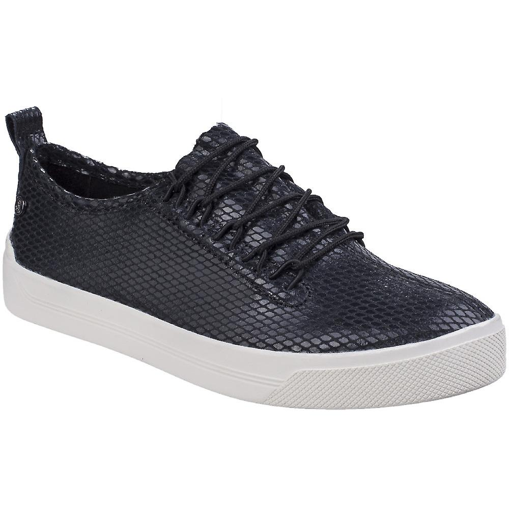 Hush Puppies donna Ladies Gabbie Lace Up Casual Fashion Trainer scarpe | Portare-resistendo