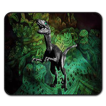 Dinosaur Rex Beast Animal  Non-Slip Mouse Mat Pad 24cm x 20cm | Wellcoda