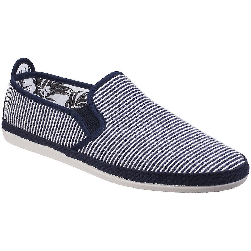 Seidig Mens Brieva Slip-On Canvas Casual Sommer Schuhe Pumps Schuhe