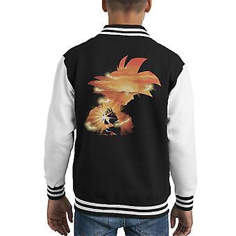 Dragon Ball Z Goku zonsondergang Kid's Varsity Jacket