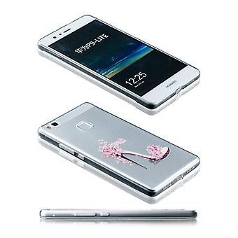 Silikoncase motiv 26 0,3 mm ultra tynde tilfældet for Huawei P9 Lite lomme dække
