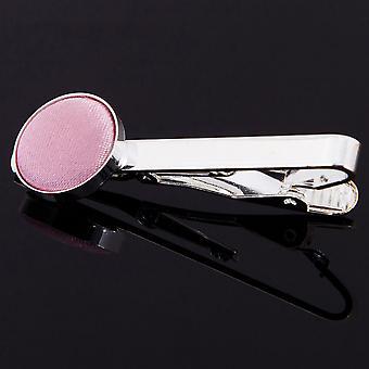 Baby Pink Plain Krawattenklammer