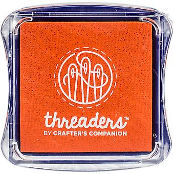 Crafter's Companion Threaders Fabric Ink Pads-Orange