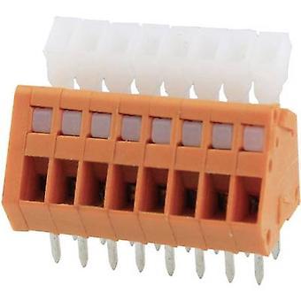 Degson DG240-2.54-08P-15-00AH Spring-loaded terminal 0.51 mm² Number of pins 8 Orange 1 pc(s)
