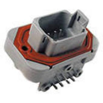 TE Connectivity DT13-08PA Bullet connector Plug, horizontal mount Series (connectors): DT Total number of pins: 8 1 pc(s