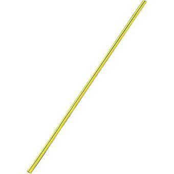 Heatshrink w/o adhesive Yellow-green 9 mm Shrinkage:3:1 Sold by the metre