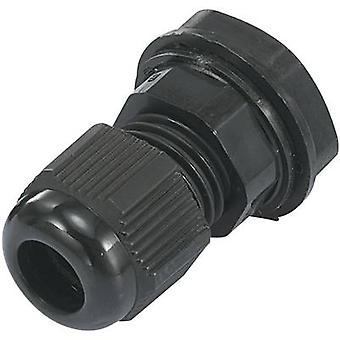 KSS EGRWW7 Cable gland PG7 Polyamide Black (RAL 9005) 1 pc(s)