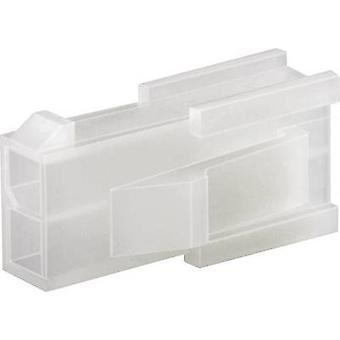 TE Connectivity 794953-8 VAL-U-LOK Retaining Cover For Use With Crimp-Pin-Contacts, Panel Mount, UL94 V-2 Number of pins: 2 x 4