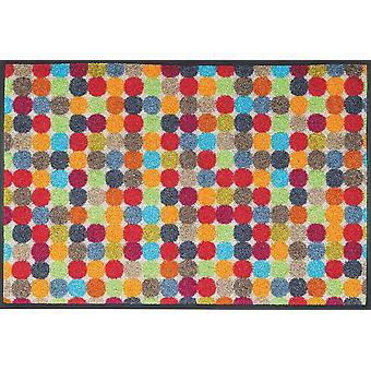 Mikado dots 50 x 75 cm washable floor mat wash + dry