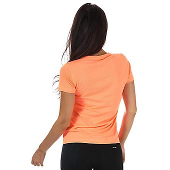 Womens adidas Performance oneindige reeks Prime T-Shirt In Flash oranje