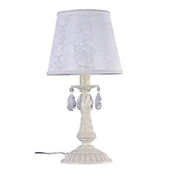 Maytoni Lighting Filomena Elegant Table Lamp, Ivory
