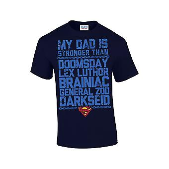 Superman-Father, husband Of The Day t-shirt