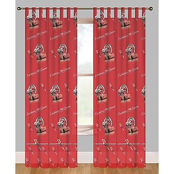 Disney Cars Bedroom Red Voile Curtain